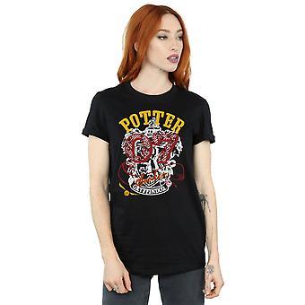 Harry Potter kobiet Gryffindor Seeker chłopaka pasuje Koszulka