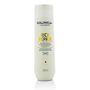 Dual Senses Rich Repair Restoring Shampoo (regeneration For Damaged Hair) - 250ml/8.4oz