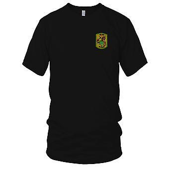 USN Brown água marinha Rio divisão 535 PBR - guerra do Vietnã militar Patch Bordado - Mens T-Shirt