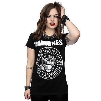 Ramones Women's Presidential Seal T-Shirt