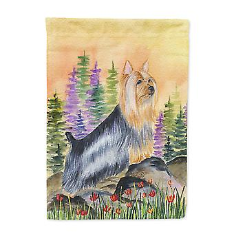 Carolines Treasures  SS8262-FLAG-PARENT Silky Terrier Flag