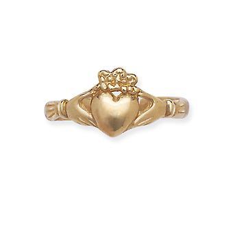 14k Giallo Oro Regolabile Amore Cuore Gioiello Gioielli Gioielli Per le Donne