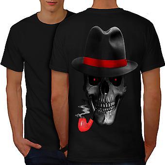 Kallo Mafia gangsteri miesten BlackT-paita takaisin | Wellcoda