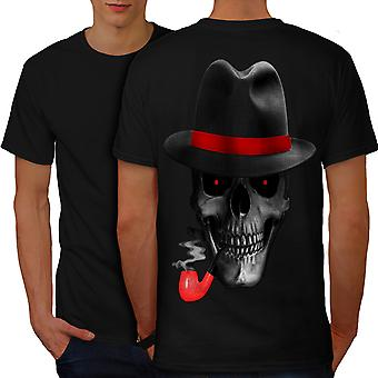 Skalle maffian Gangster män BlackT-shirt tillbaka | Wellcoda