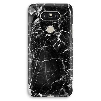 LG G5 volledige Print kast - Black Marble 2