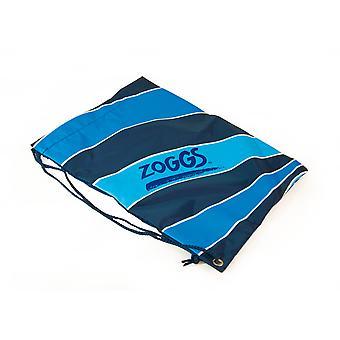 Zoggs jóvenes chicos y chicas práctico lazo bolso mochila saco Navy - 43.5x33.5 cm