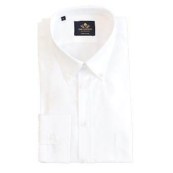 Thomas mason royal oxford white shirt