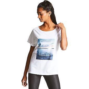 Uskalla 2b naisten/naisten rento rento graafinen Logo T paita