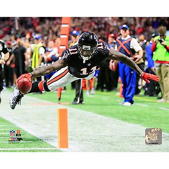 Julio Jones 2017 akcji Photo Print
