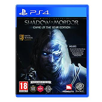 Middle-Earth Shadow of Mordor GOTY (PS4) - New