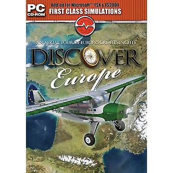 Discover Europe - Add on für FS 2004FSX (PC CD) - Neu