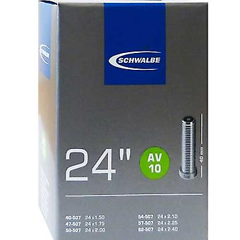 SCHWALBE AV 10 bicycle tube 24″