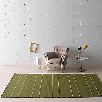 Al aire libre y en plano alfombra de tela verde Fürth | 102029