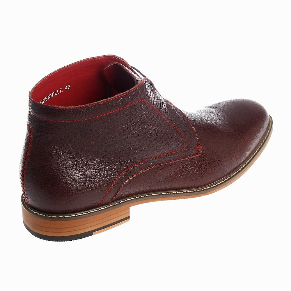 Justin Reece Greenville Leather Ankle Boots