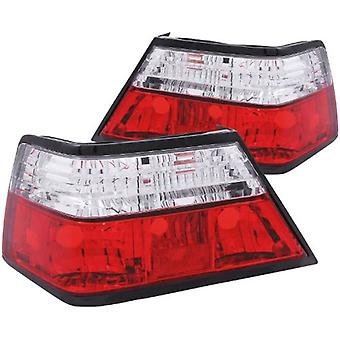 Anzo USA 221159 Mercedes-Benz Red/Clear Tail Light Assembly - (paarweise)