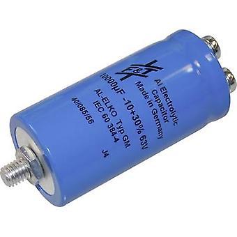 FTCAP GMB10306335070 Elektrolytische condensator schroef-type 10000 µF 63 V 20% (Ø x H) 35 x 70 mm 1 PC('s)