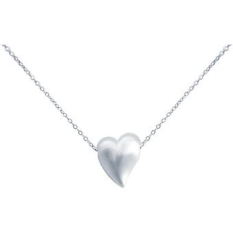 Gemshine naisten sydän kaula koru riipus 925 Sterling hopea 2,5 cm