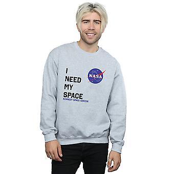 NASA mężczyzn potrzebuje moja Bluza przestrzeni