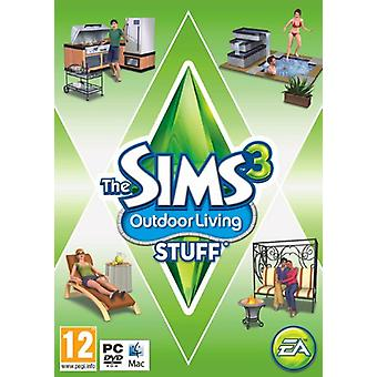 The Sims 3 utomhus levande grejer (PCMac DVD)-ny