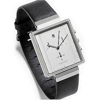 "Jacob Jensen Watch ""Retangular Chrono"" Relógio Masculino 806"