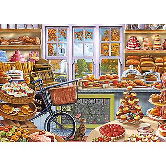 Falcon Deluxe Bella 's Bakery Shoppe Jigsaw Puzzle (1000 Pieces)