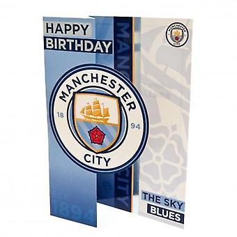 Manchester City Birthday Card