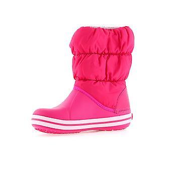 Crocs Winter Puff Boot lapset Candy vaaleanpunainen 146136X0 universaali talvi Lasten kengät