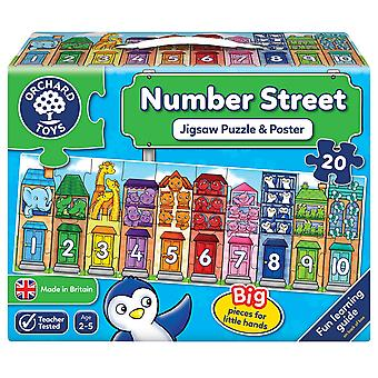 Orchard Number Street Jigsaw