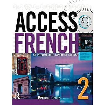 Tilgang fransk 2: En mellomliggende språkkurs