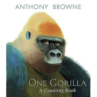 Een Gorilla: Een tellen boek