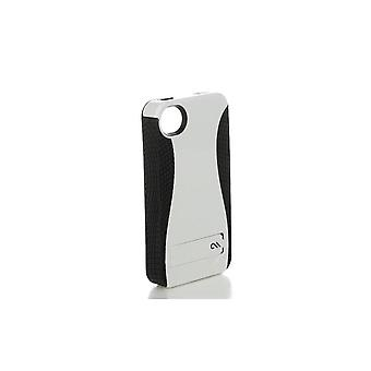 Case-Mate Pop Case with Stand for Apple iPhone 4/4S - White/Black