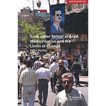 سوريا تحت التحديث بشار الأسد وحدود التغيير من فولكر برثس] آند