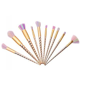 10pcs Makeup Brushes Unicorn