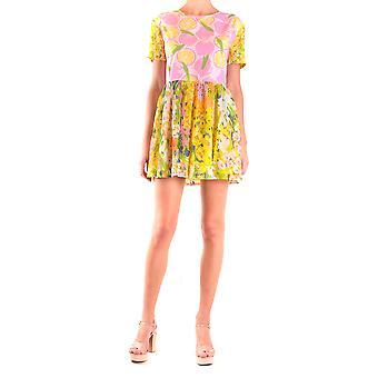 Moschino Ezbc015033 Women's Multicolor Viscose Dress