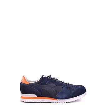Diadora Ezbc116004 Hombres's Zapatillas de ante azul