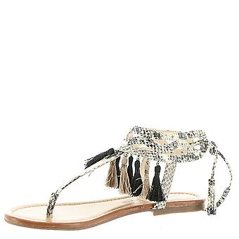 Jessica Simpson Womens Kamel Split Toe Casual T-Strap Sandals