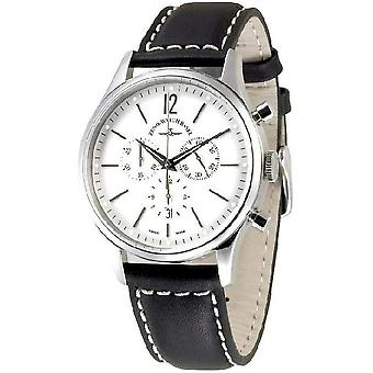 Zeno-watch Herre ur begivenhed Herre chronograph 43 hvid Q 6564-5030Q-i2