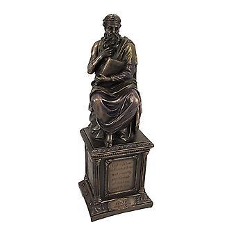 Bronze Finish Plato Statue Philosophy