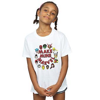 Marvel Girls Make Mine Marvel T-Shirt