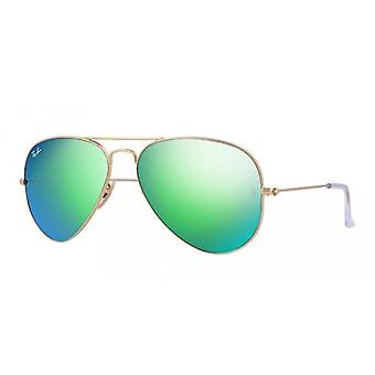 Ray-Ban Aviator verde Flash gafas de sol - RB3025-112/19-62