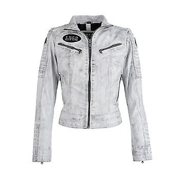 Women's Leather Jacket Team COCO