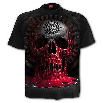 Spiral - bleeding souls - mens t-shirt