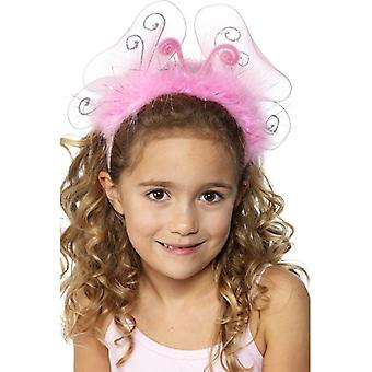 Smiffy's Girl's Pink Flashing Headband
