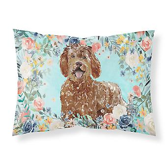 Carolines Treasures  CK3421PILLOWCASE Labradoodle Fabric Standard Pillowcase