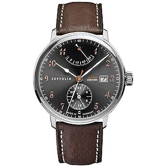 Zeppelin hindenburgh ed.1 Automatic Analog Men's Watch with Cowhide Bracelet 7062-2