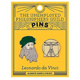 Pin Set - UPG - Leonardo Da Vinci 5258