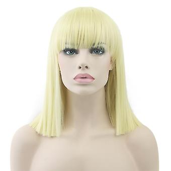 Perruque synthétique / Short Straight / Light Blonde #613