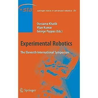 Robotica sperimentale L'undicesimo simposio internazionale di Khatib & Oussama