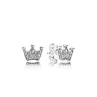 Pandora Silver Women's Stud Earrings - 297127CZ