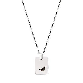 Emporio Armani Chain with Men's Pendant in Stainless Steel